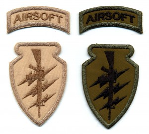 Airsoft custom patch