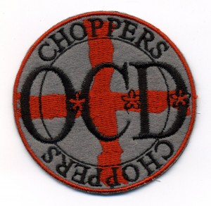 OCD Choppers embroidered patch